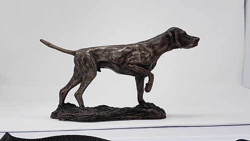 Hungarian Vizsla Cold Cast Bronze Sculpture by Ann Kilminster