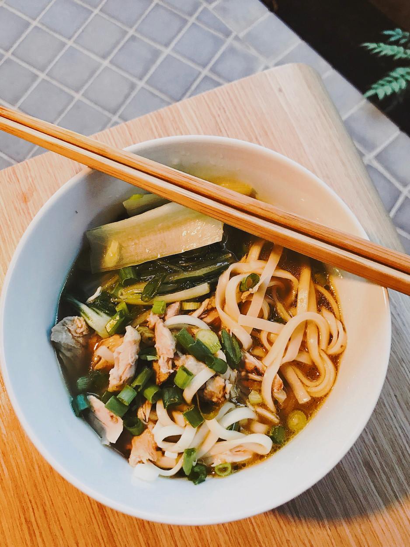 Soto Ayam Kaw Kaw with SingLong Egg Noodles
