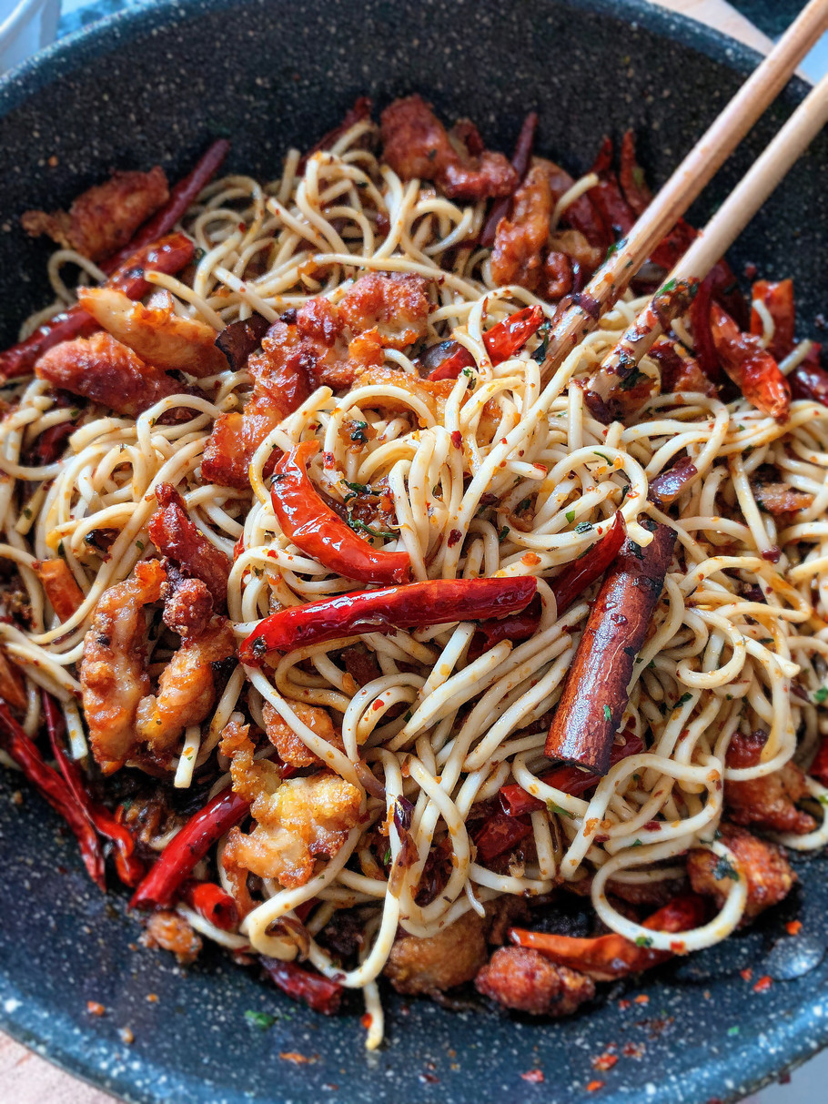 Prosperity Dried Chilli La Mian