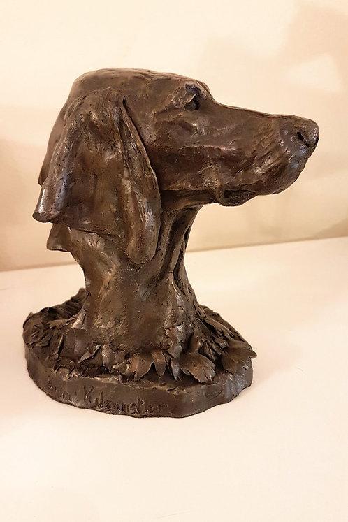 Hungarian Vizsla Sculpture in Cold Cast Bronze by Ann Kilminster