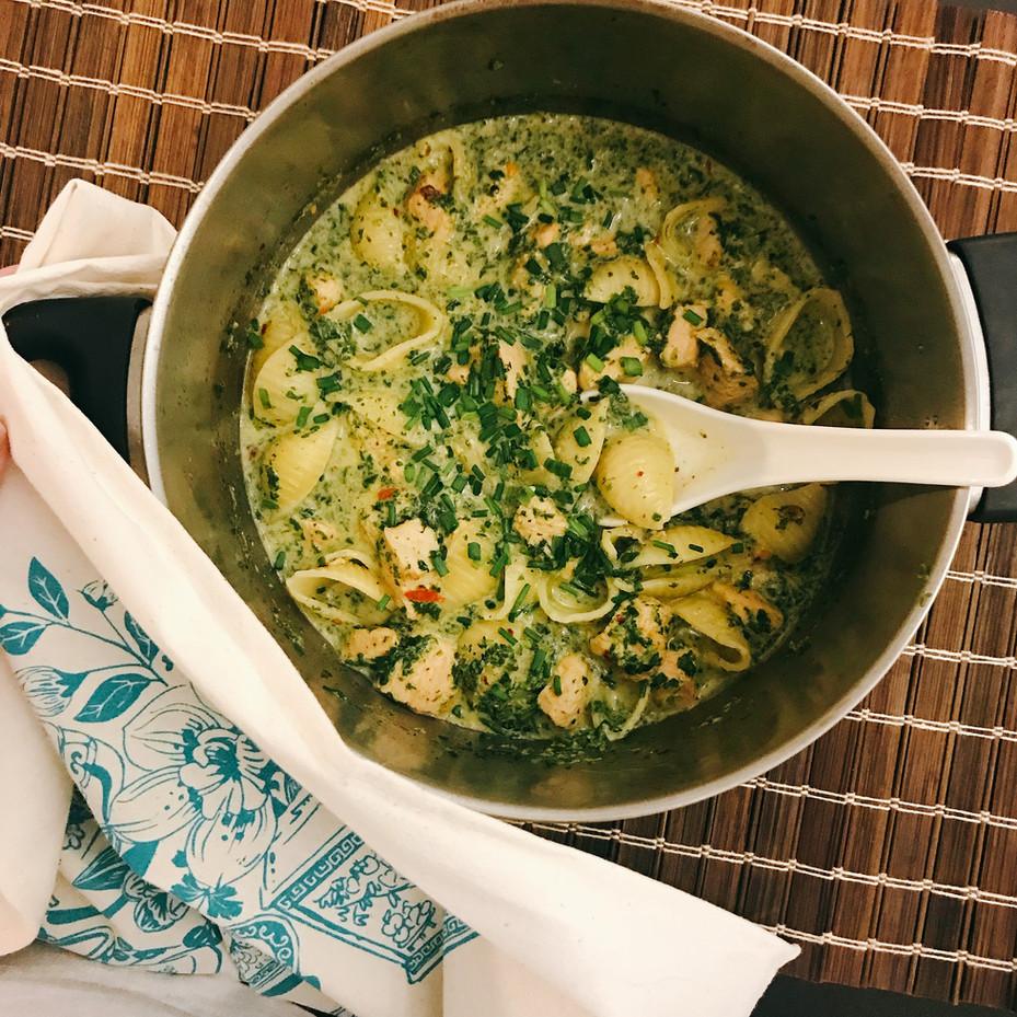 Chicken & Chives Pasta