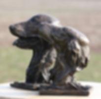 Flatcoated Retriever Sculptures