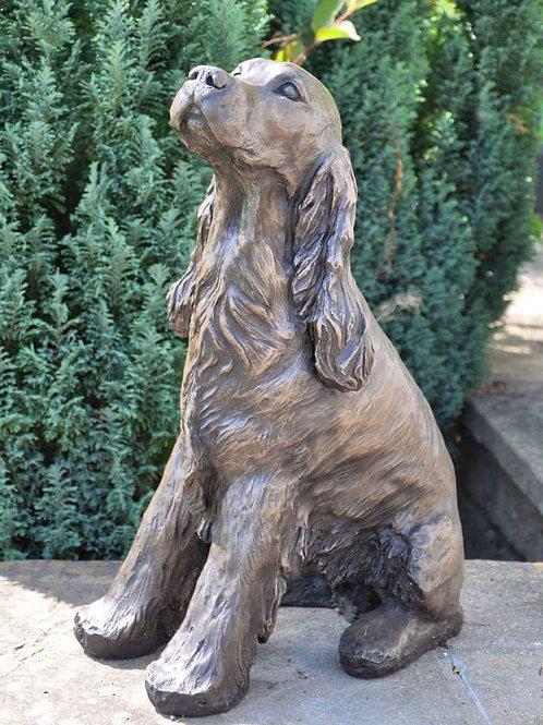 Lifesize Cocker Spaniel Sculpture