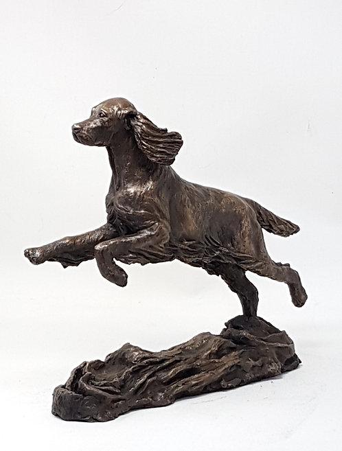 Cocker Spaniel sculpture by Ann Kilminster
