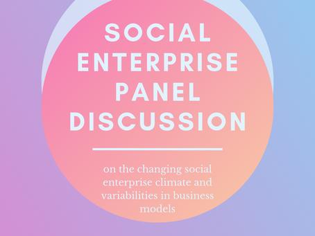 Social Enterprise Panel Discussion