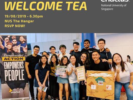Welcome Tea 2019