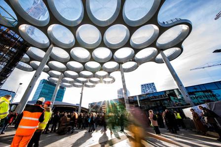 Opening Stationsplein Utrecht CS