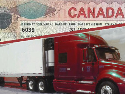 List of Visa Requirements for Truck Drivers in Canada 2019