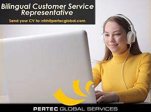 Bilingual Customer Service Representativ