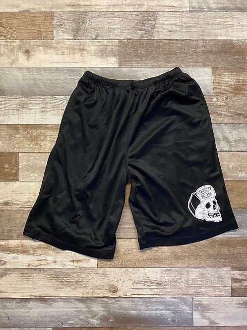 Skull basketball short