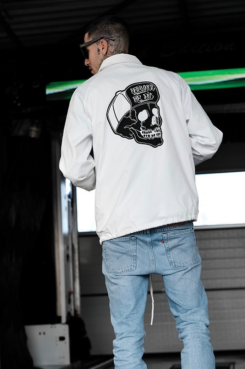 Skull Coach White jacket
