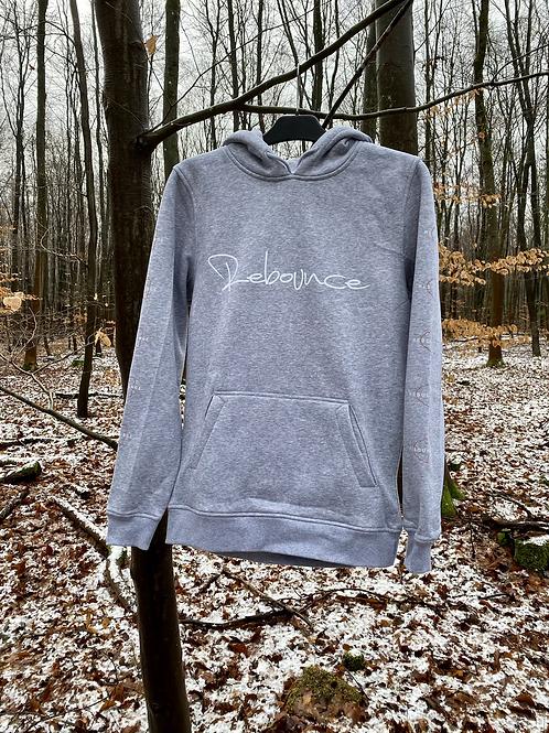 Signature hoodie grey