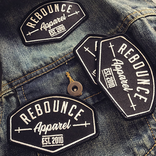 Rebounce Apparel patches