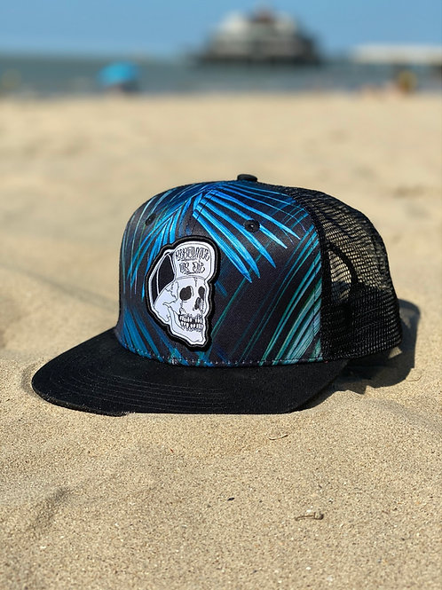 Tropical trucker cap