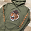 Thumbnail: Tigre hoodie olive