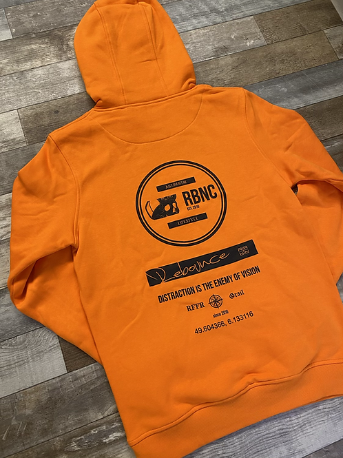 Authentic hoodie orange