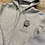 Thumbnail: Real Hate or Fake Love zip hoodie grey