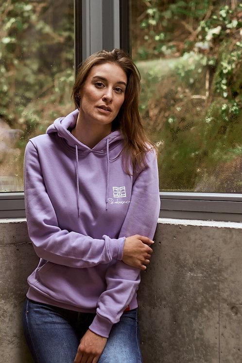 R+ hoodie lavanda