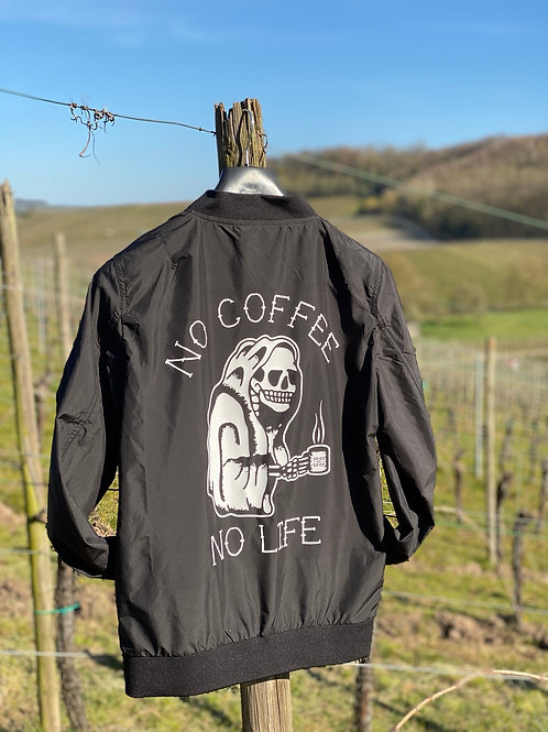 No Coffee No Life light jacket