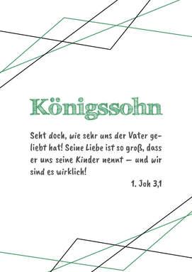 "Poster Wohnraum/Kinderzimmer ""Sohn"""