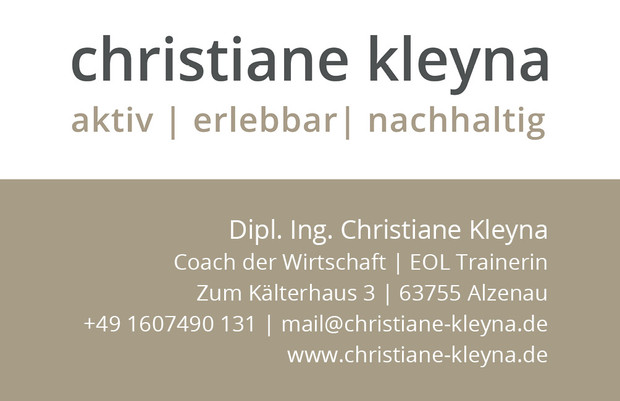 Corporate Design, Logo, Webtexte