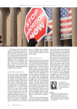 Artikel Perspektive März 2020