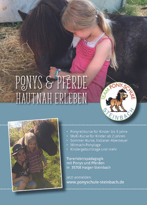Flyer Ponyschule Steinbach