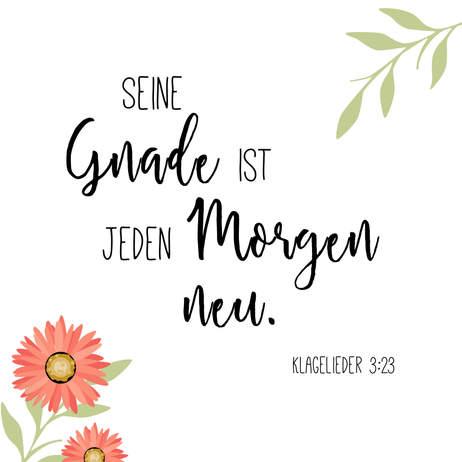 """Poster Wohnraum """"Morgen"""""""
