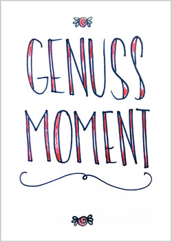 "Postkarte ""Genussmoment"""