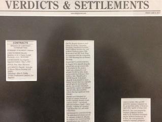 Allen Felahy Secures Defense Judgment