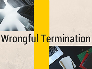 The Scoop on Wrongful Termination