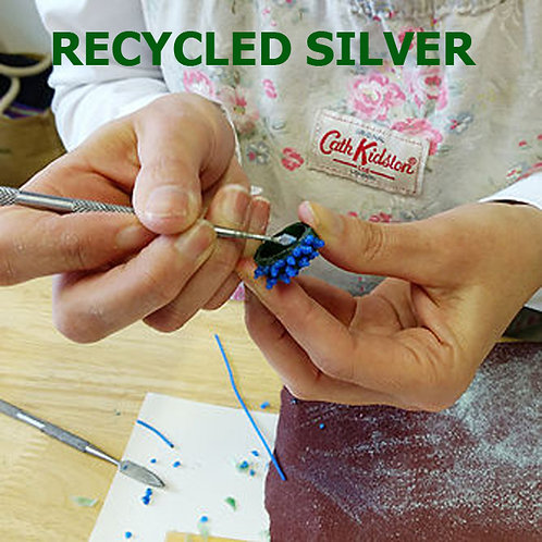 Ring Making - Wax Carving for Beginners - Recycled Silver