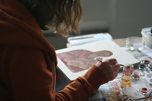 Icon Painting/Egg tempera. All levels. 3 WEEKENDS