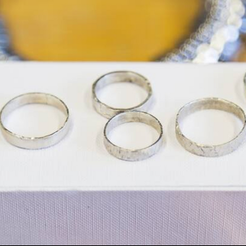 Make Eco Silver Ring