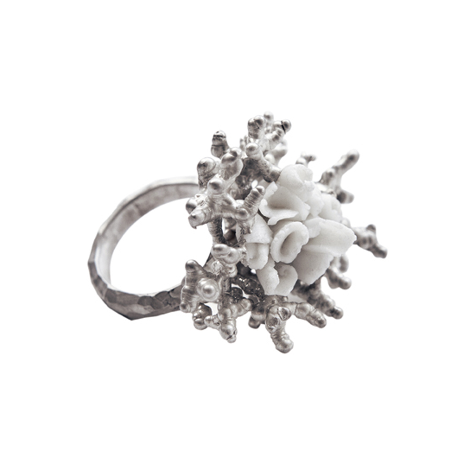 Sea Rose Coctail Ring