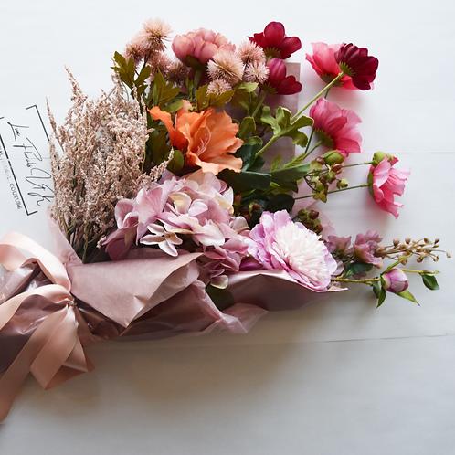 Artificial Flower Bouquet | All The Pinks