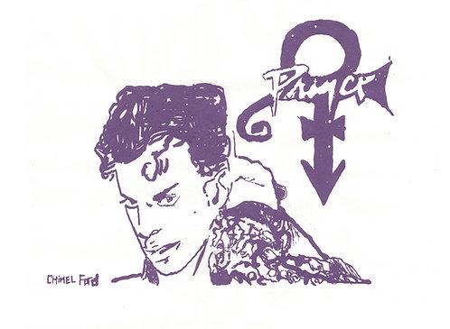 Chimel Ford, Screenprint - Prince