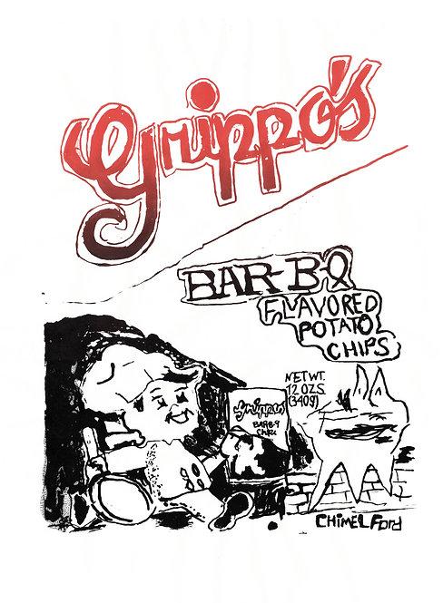Chimel Ford, Screenprint - Grippo's