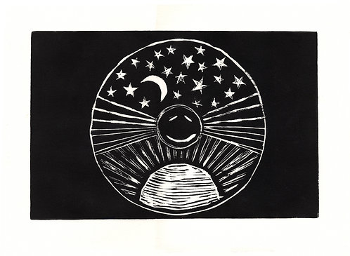 Jim James, Relief Print