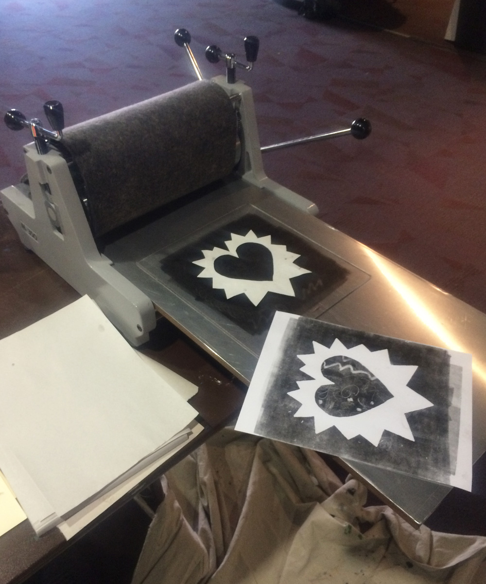 Monotype Workshops at Local Speed