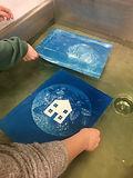 Printing a Cyanotype