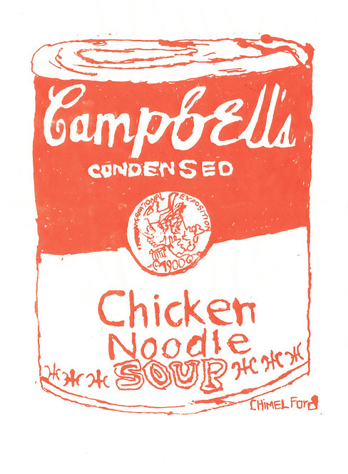 Chimel Ford, Screenprint, Campbell's