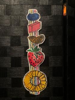Jigsaw relief print