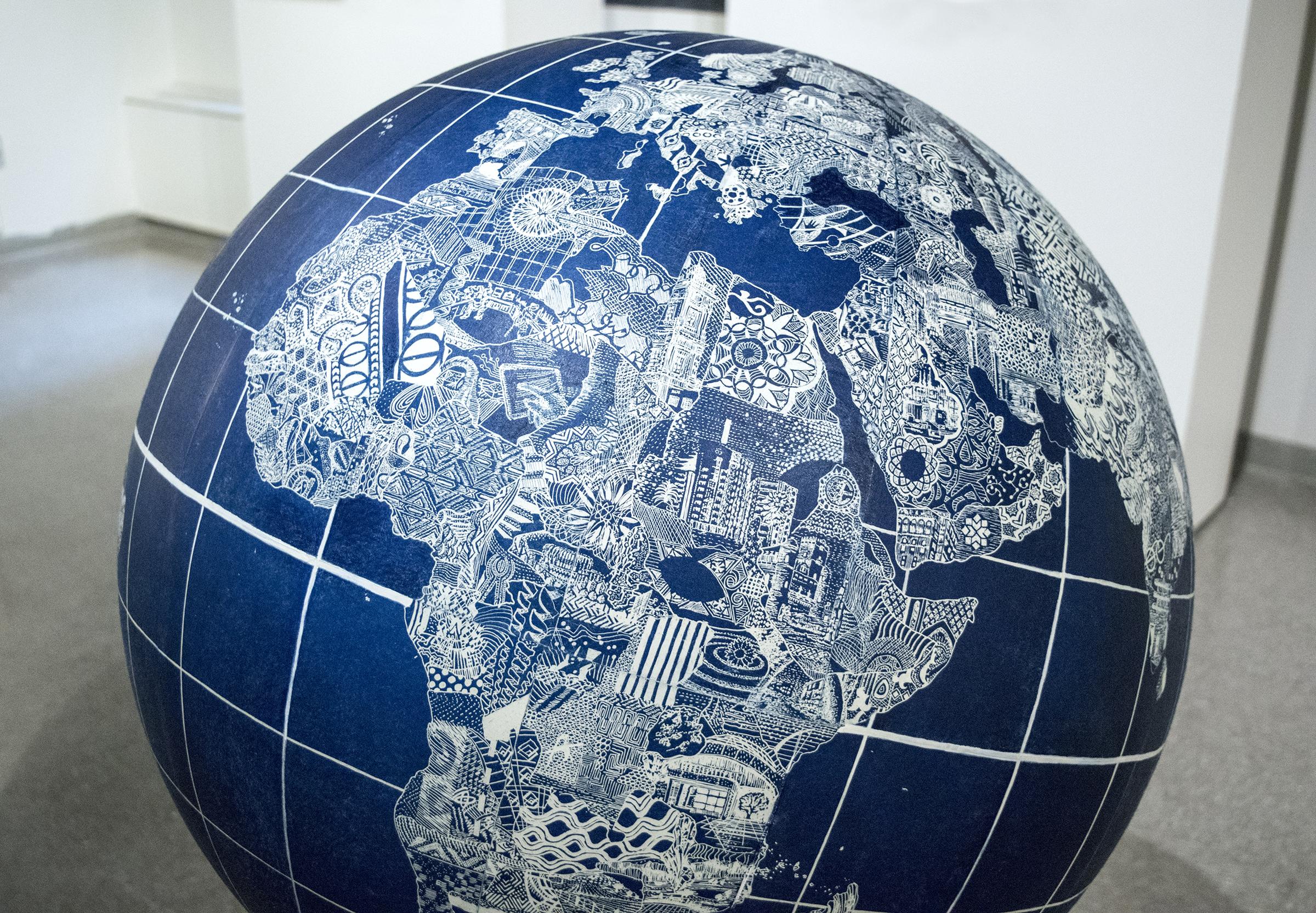 Handheld Utopias Globe, 2017