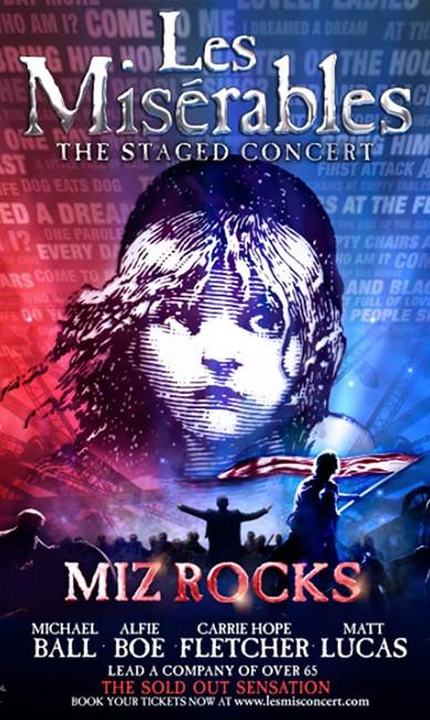 Les MIsérables  Staged Concert