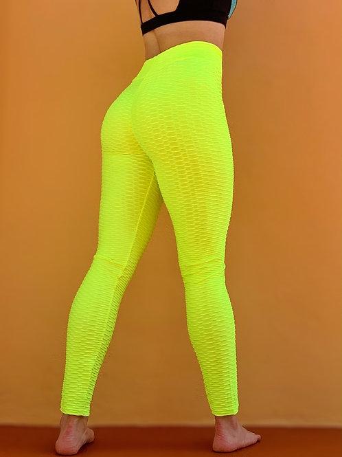Neon Scrunch Leggings
