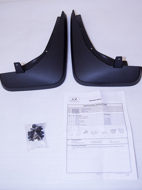 INFINITI Q50 SPLASH GUARD REAR SET
