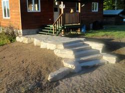 Granite Steps/Front Entranceway