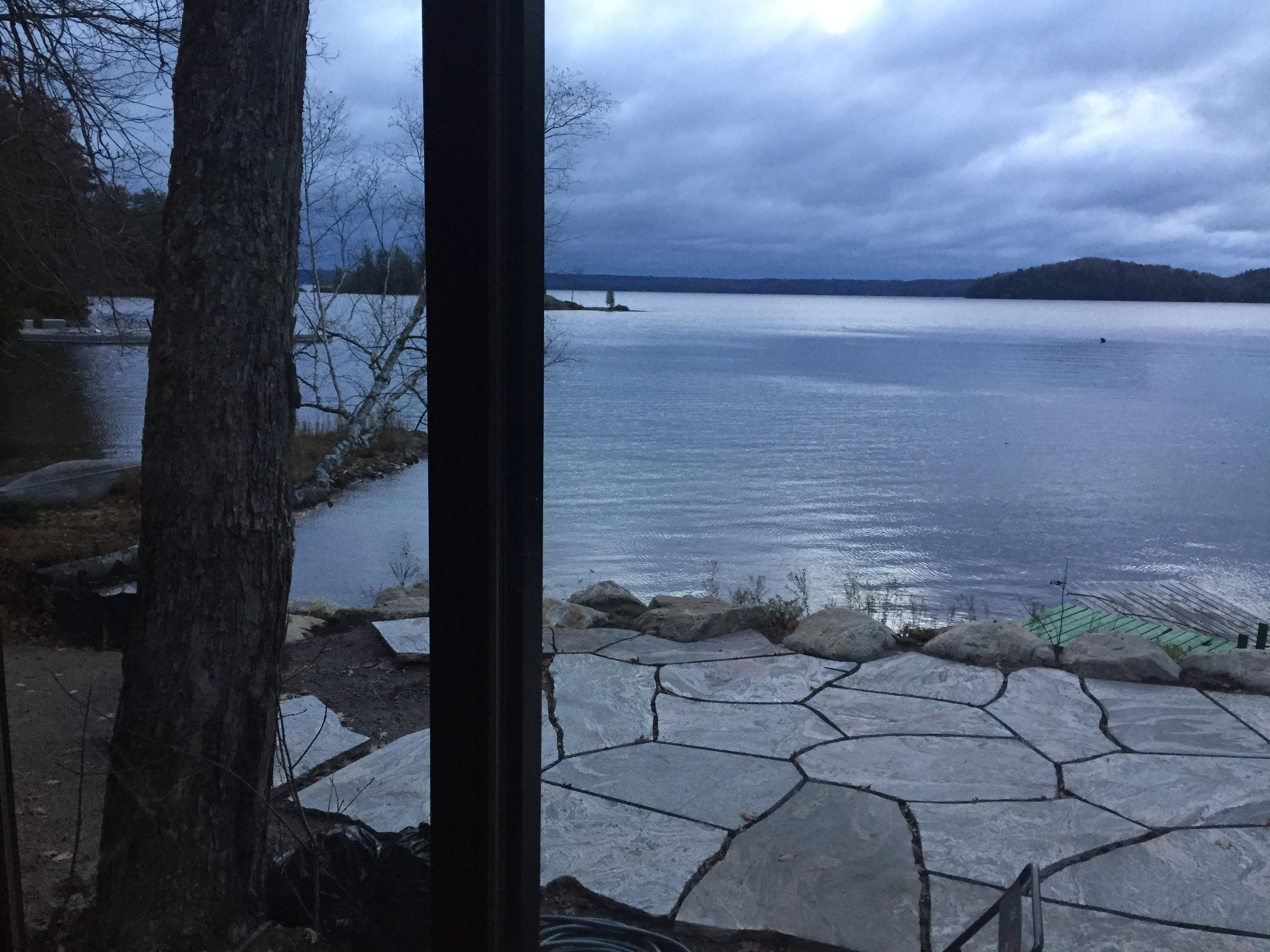 Second cottage patio