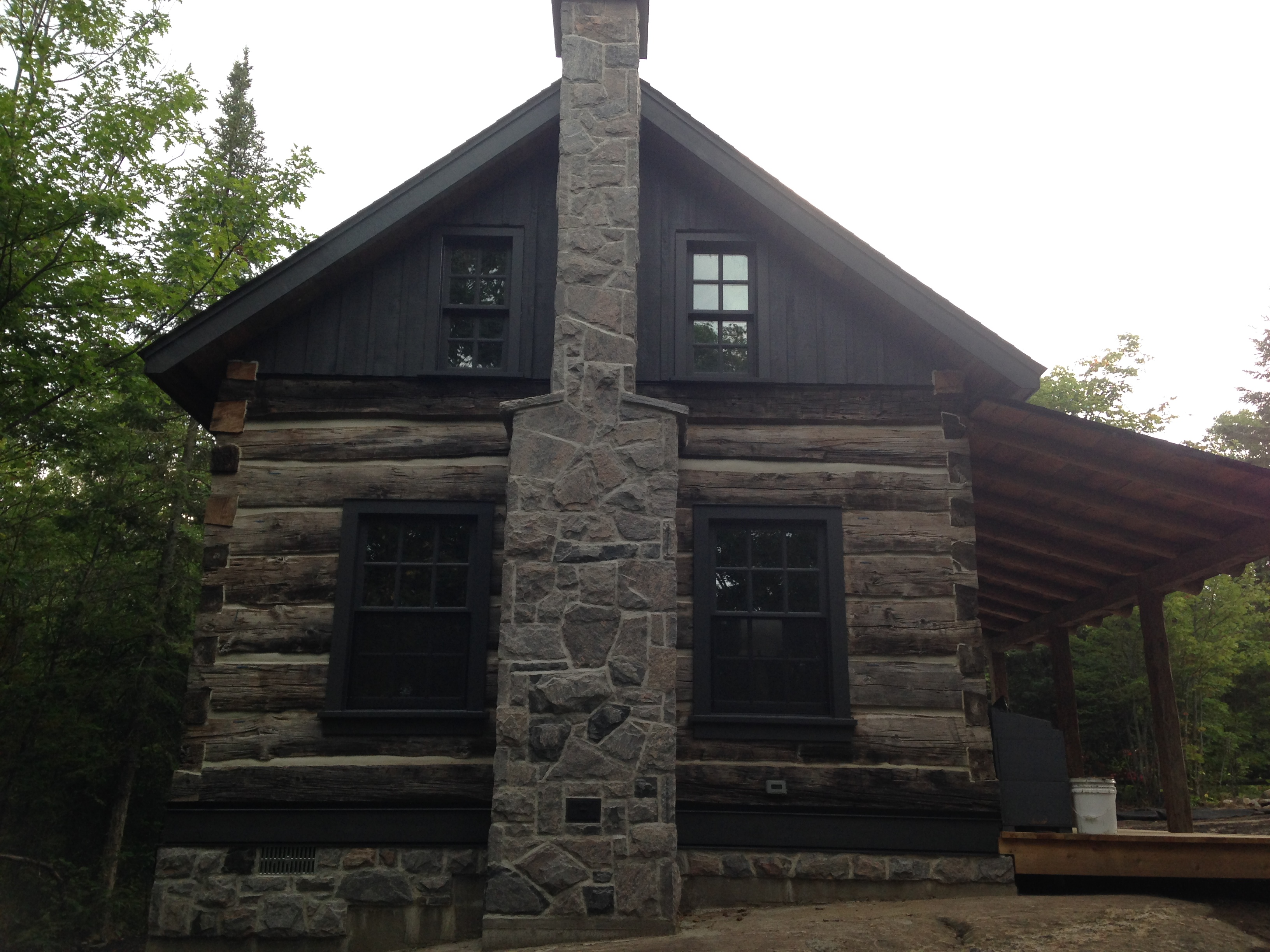 Five Point Granite Chimney